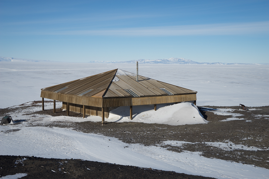 Scott's Discovery Hut, which I will be photographing in detail soon.