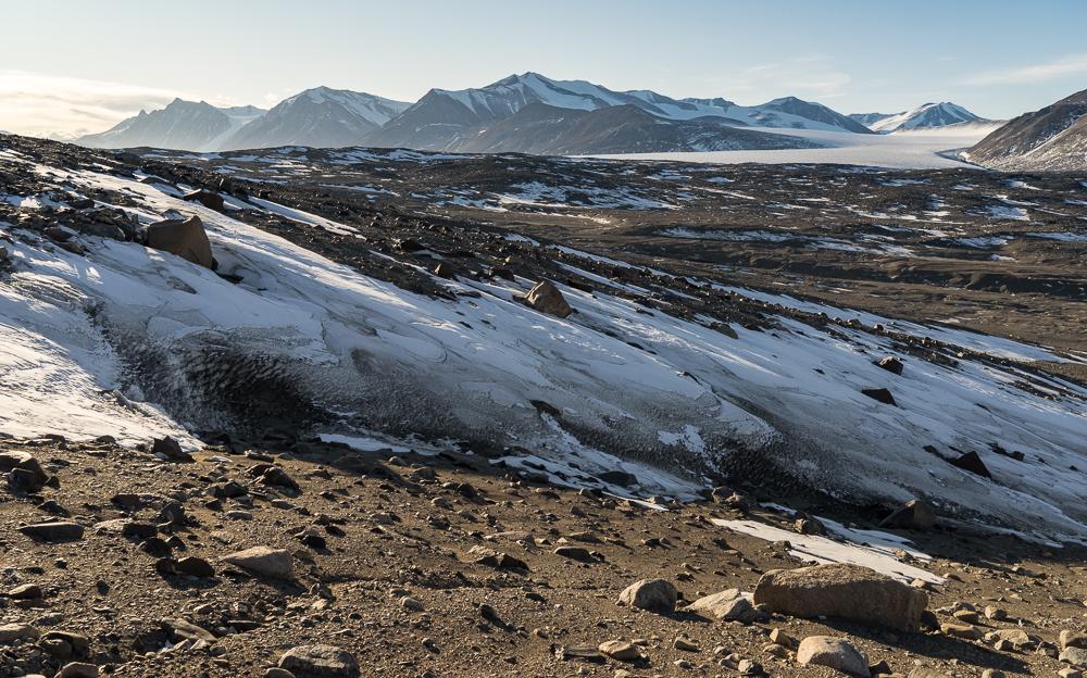 Commonwealth Glacier in the distance
