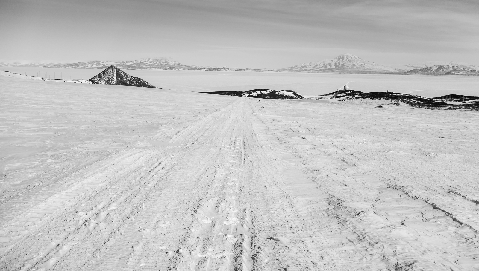 Heading back to McMurdo.
