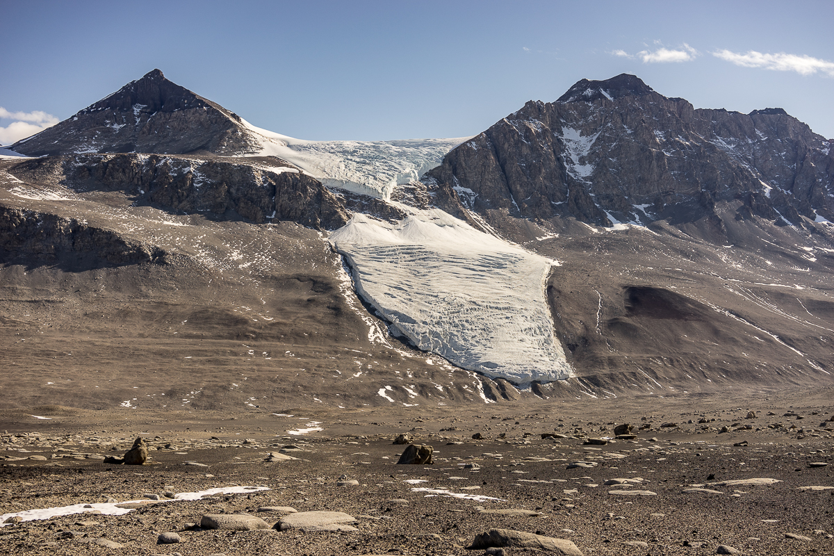 Matterhorn and Lacroix Glacier
