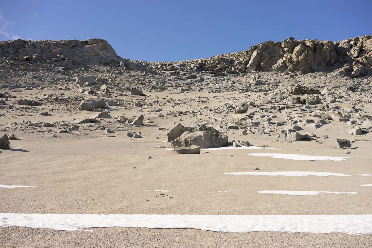 We climbed this, looked solid from below, but turned out to be a scree field that shifted and was a challenge to climb.