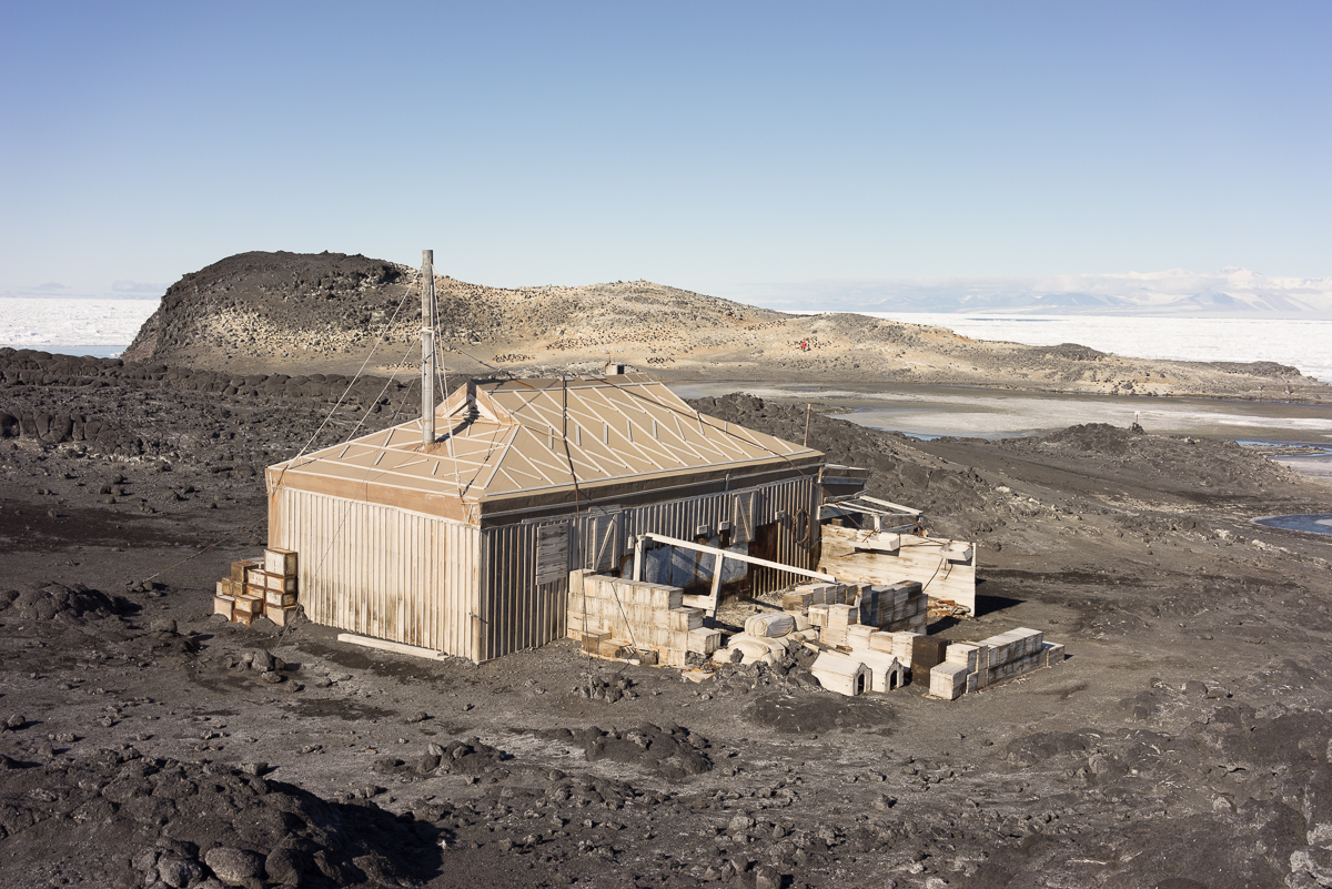 Shackleton's Hut at Cape Royds.