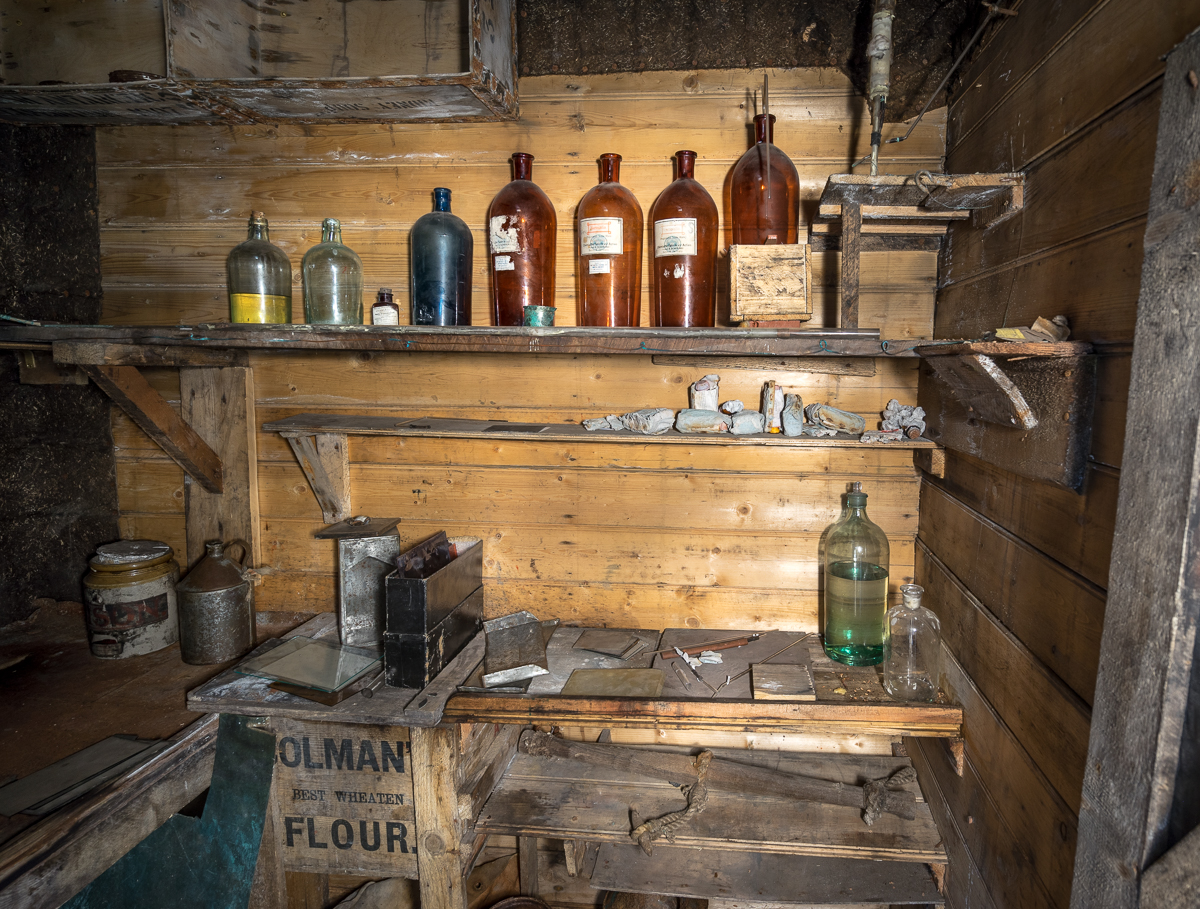 The darkroom.
