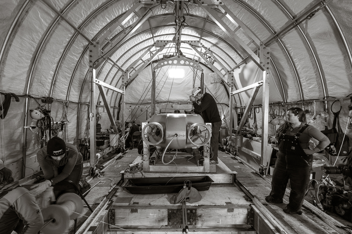 The Artimus vehicle being readied for launch.
