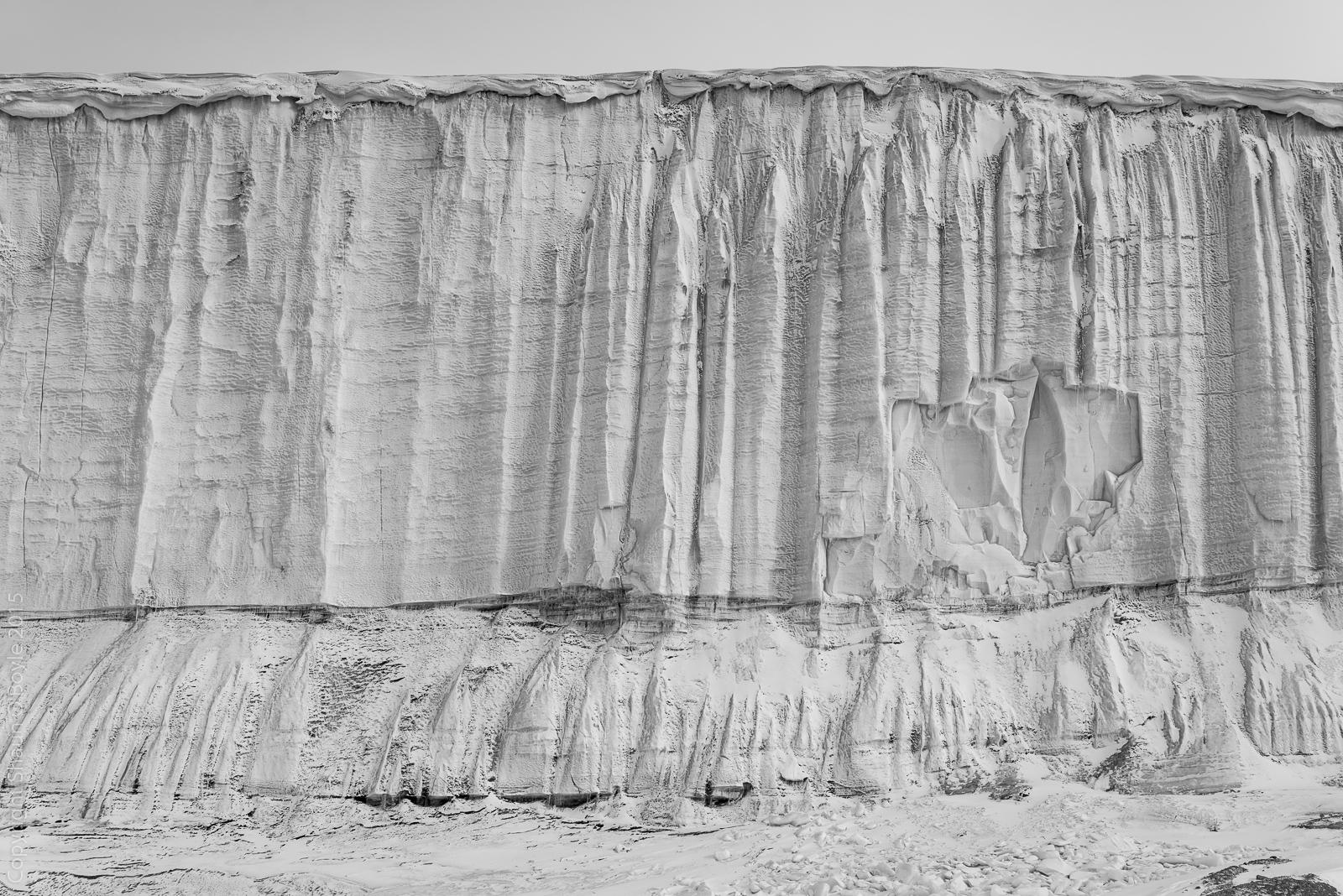 Commonwealth Glacier Detail