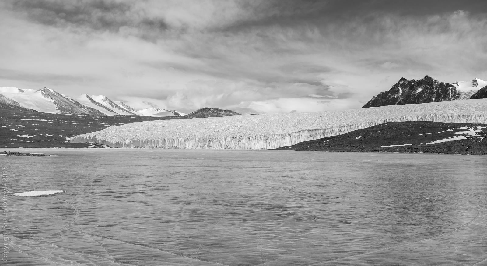 Canada Glacier and Lake Fryxell