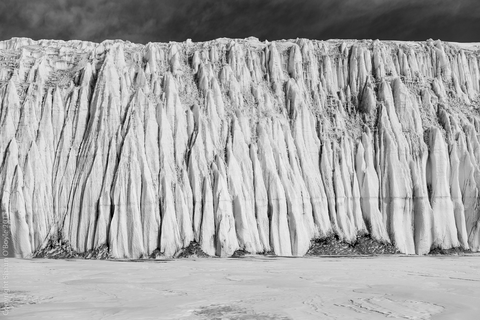 Canada Glacier at Lake Fryxell