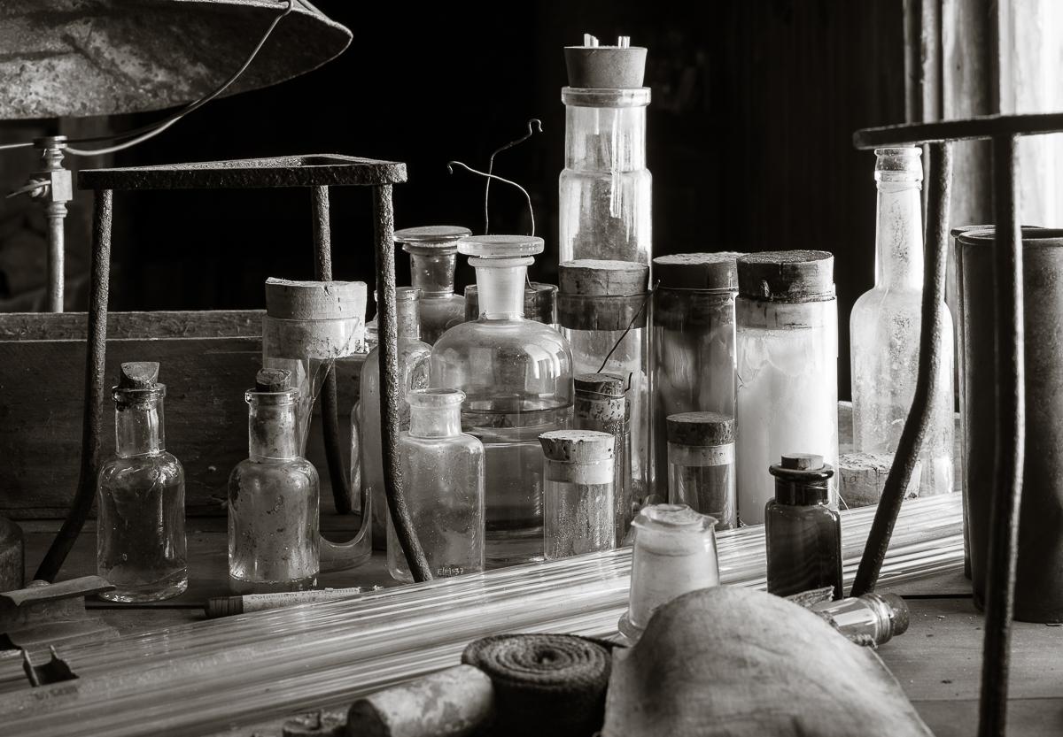 Biology Bench, Cape Evans hut