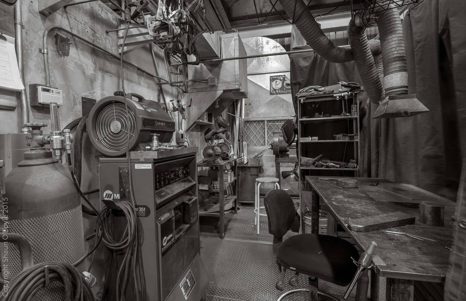 FEMC Trade Shop welding booth