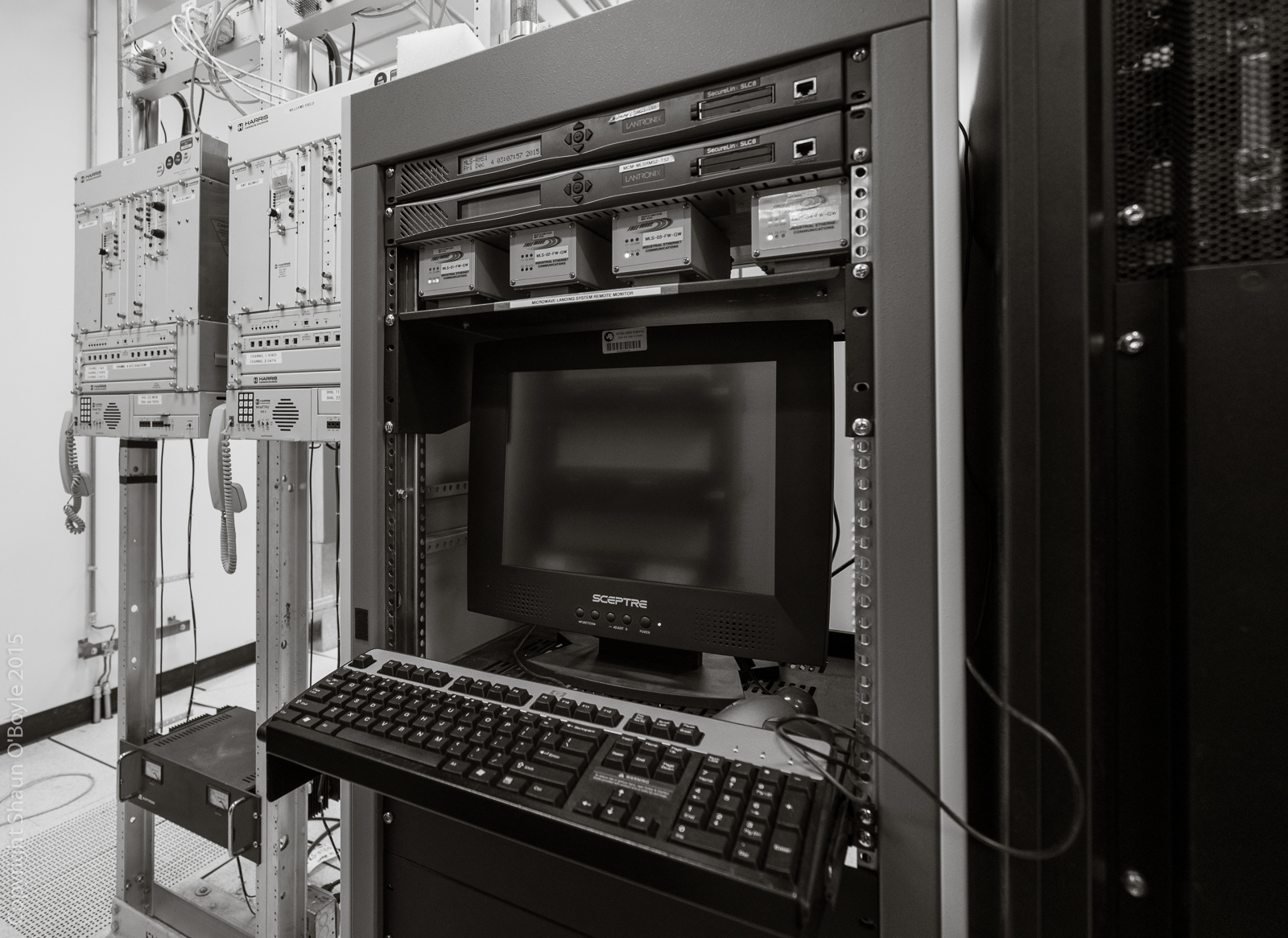 Comm equipment in building 221