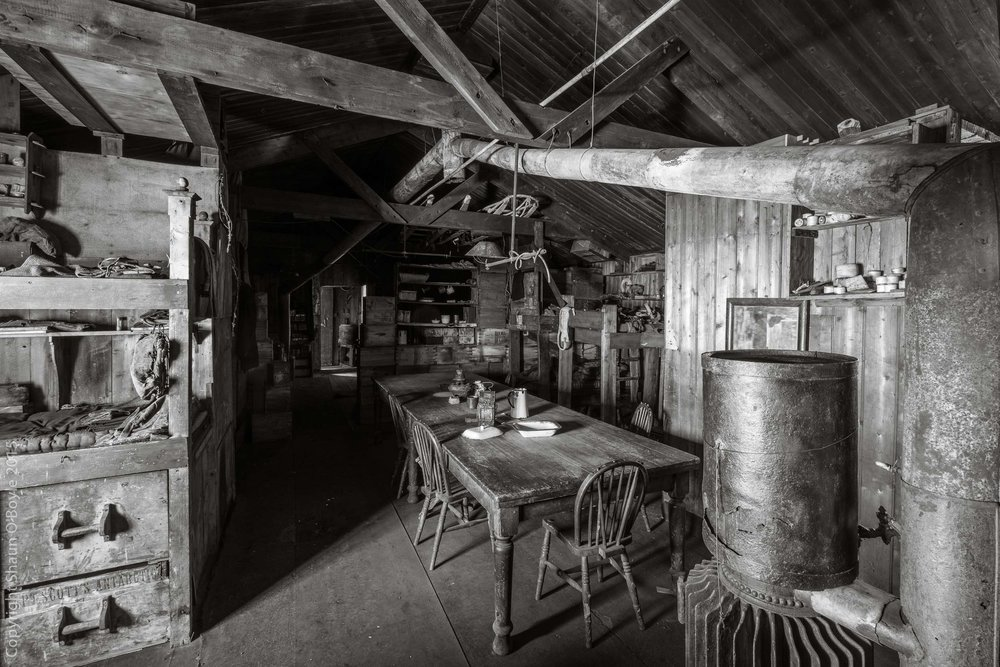 Wardroom Table, Cape Evans Hut