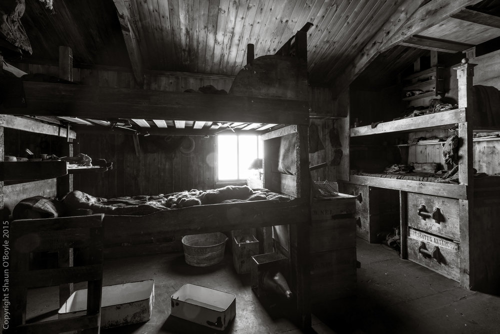 Simpson and Wright's Bunks, Cape Evans Hut
