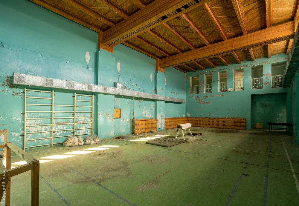 Gymnasium, Pyramiden, Svalbard
