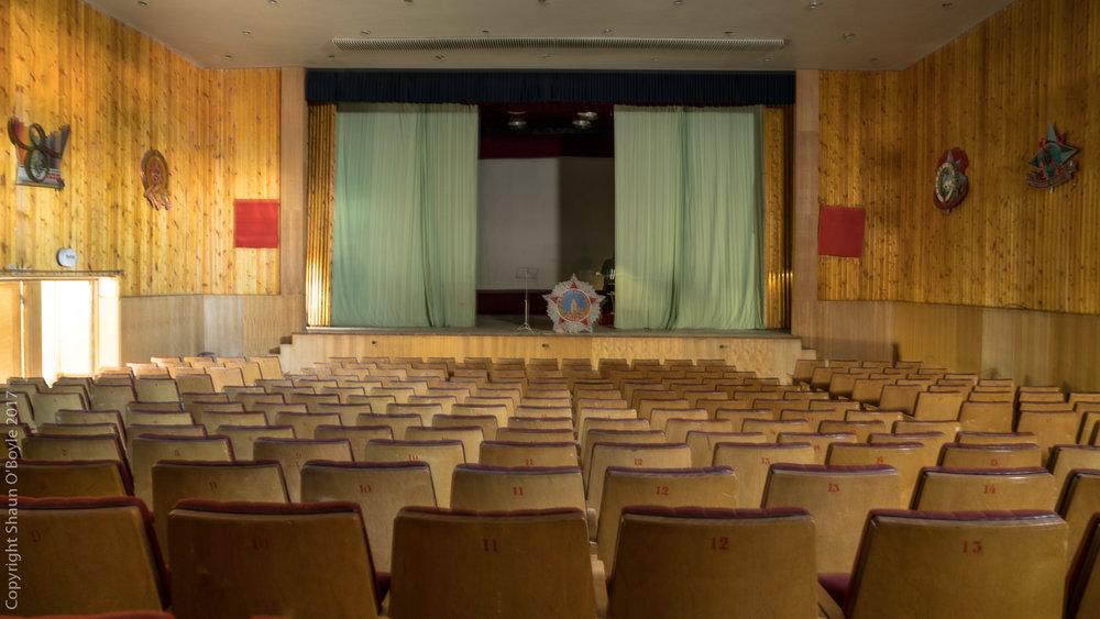 Theatre, Pyramiden