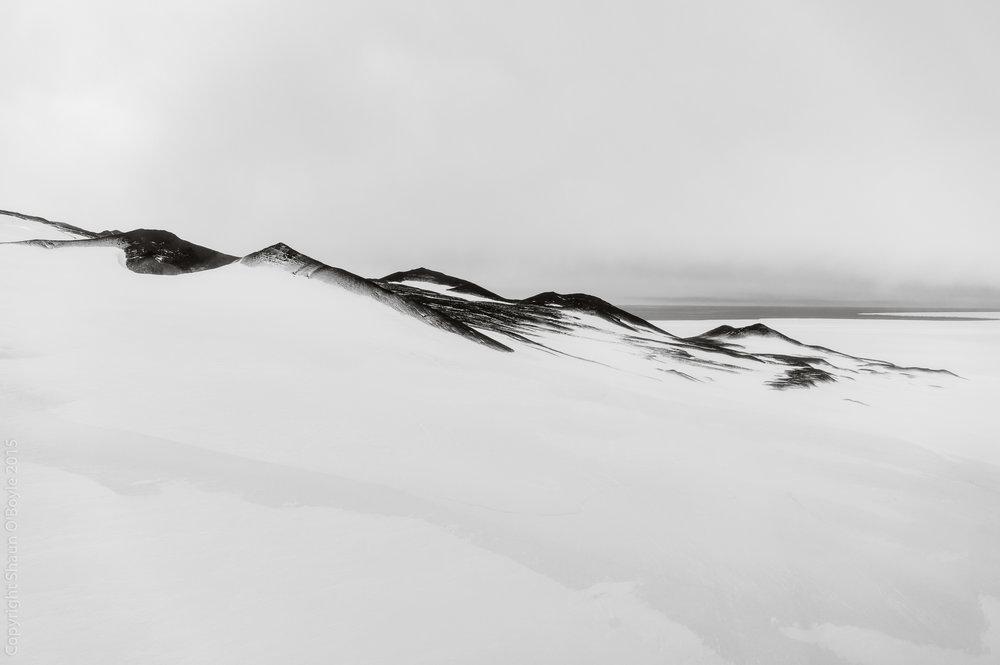 Cape Crozier, Ross Island, Antarctica