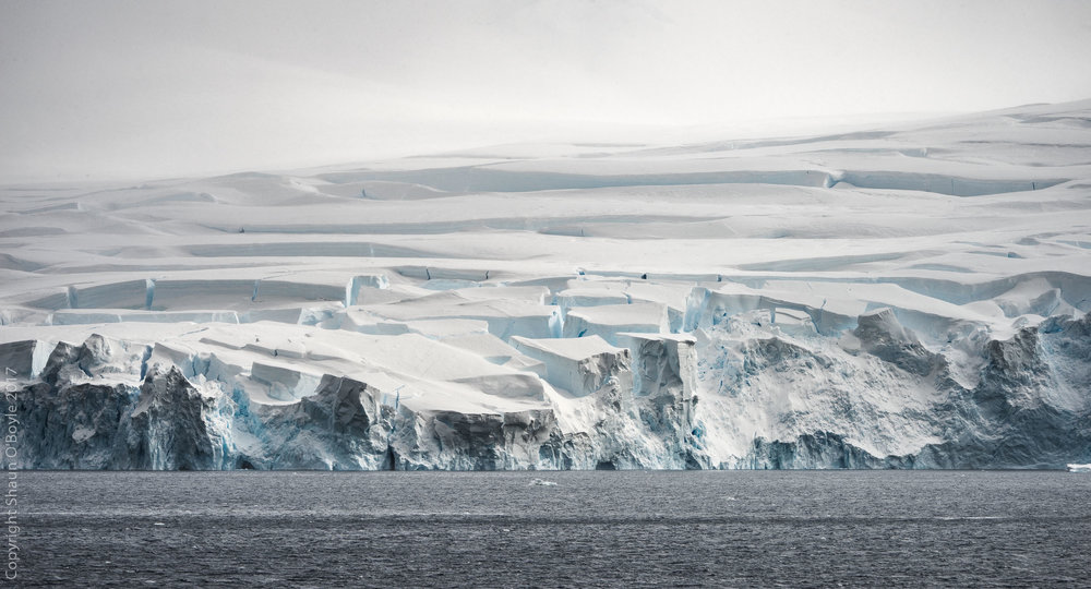 10 Story Building Sized Blocks of Ice, Neumayer Channel, Antarctica