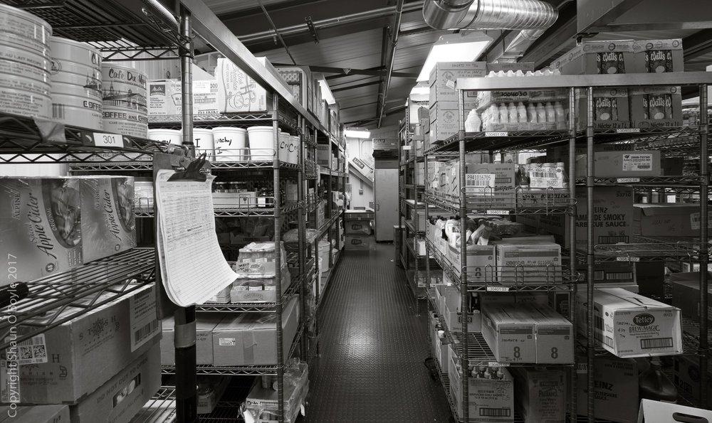 Dry food storage