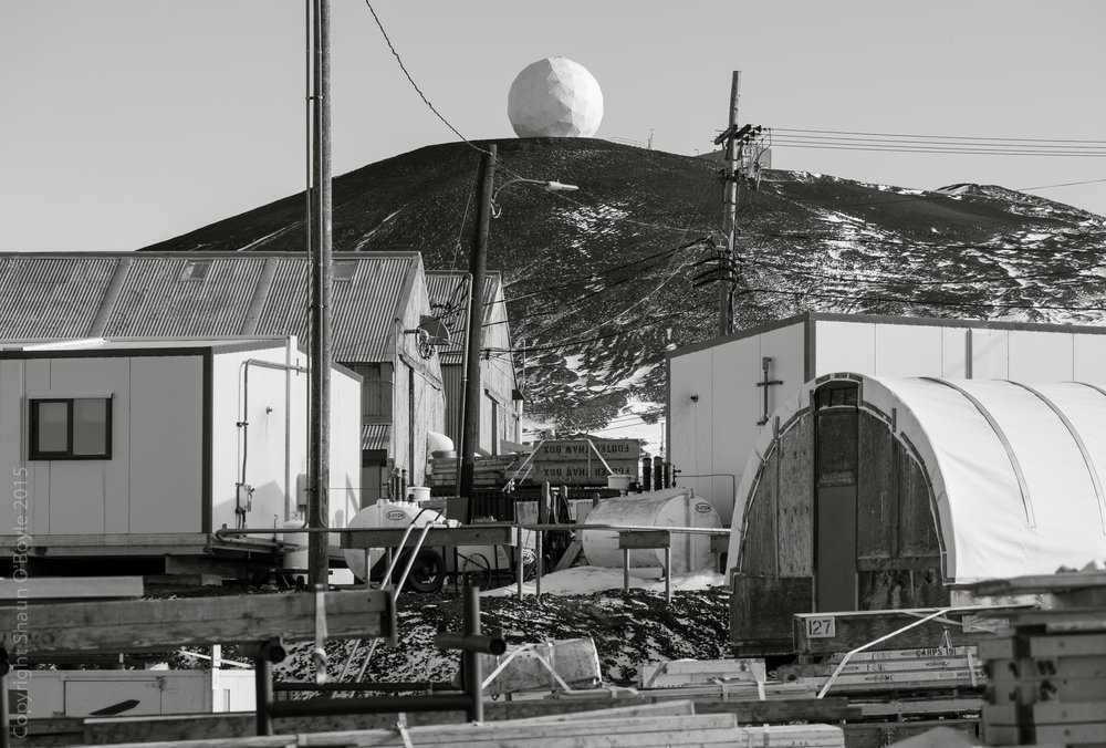 Radar Sat dome, building