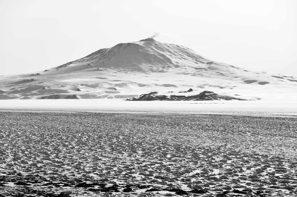 Mount Erebus from Black Island