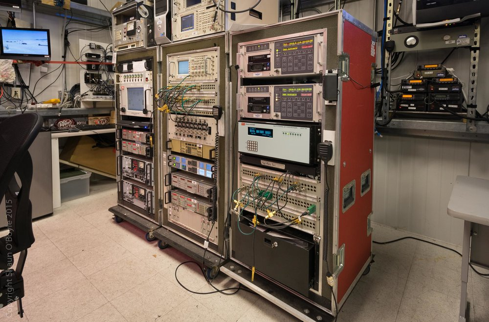 Telemetry building interior, LDB
