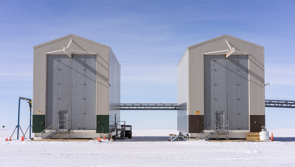 LDB Balloon Site Hangar Buildings, the tallest buildings in Antarctica.
