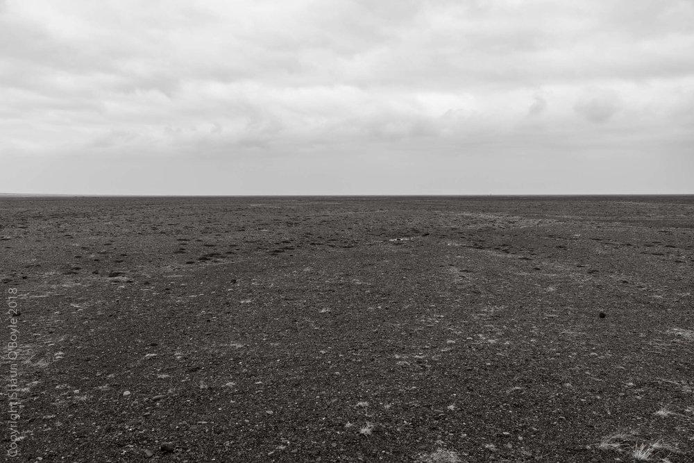 Skeiðarársandur, a 1,300 sq km sand plain