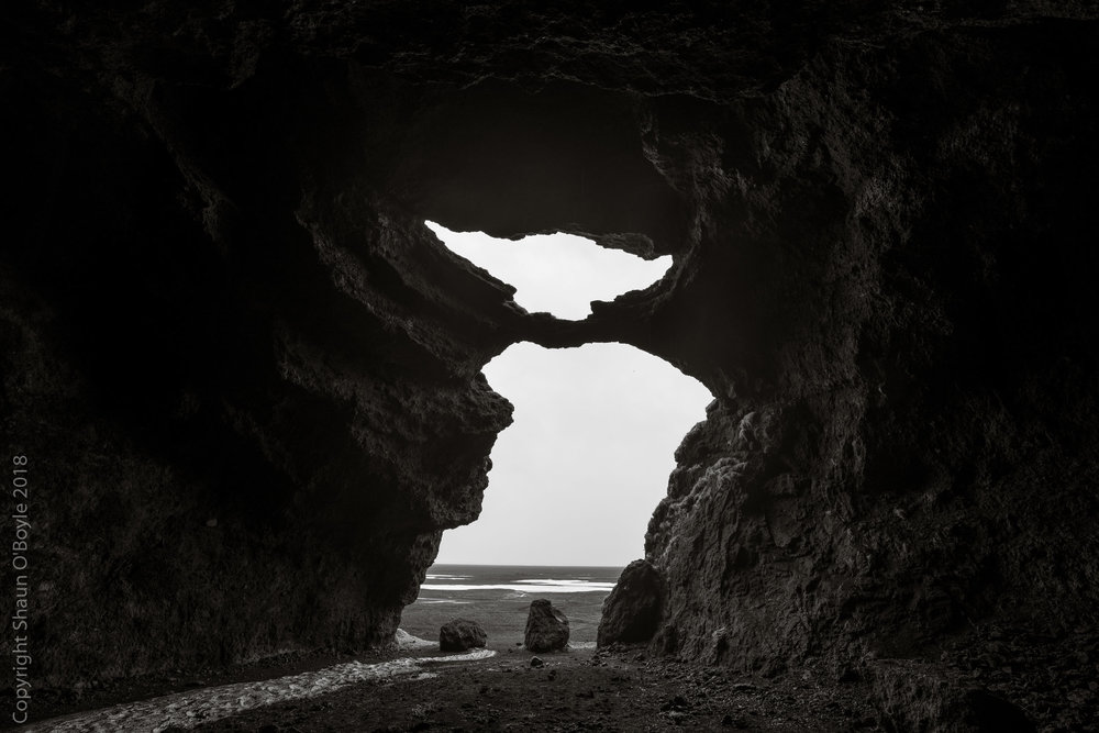 Hjörleifshöfði Cave, Hjörleifshöfði