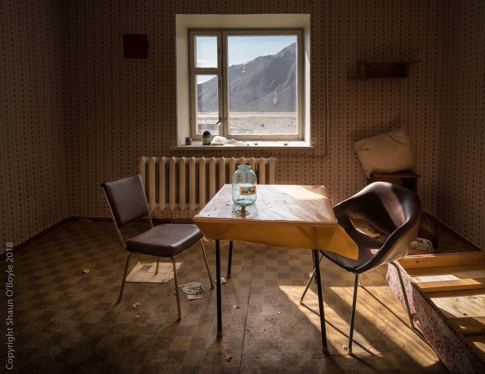 Apartment, Pyramiden, Svalbard