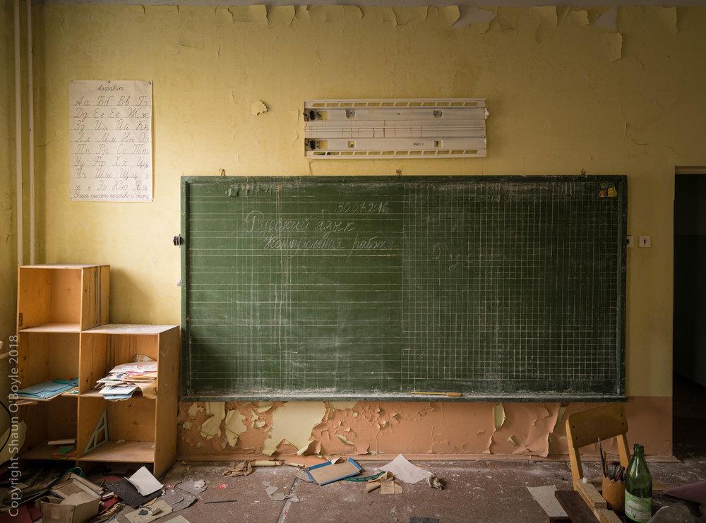 School room, Pyramiden