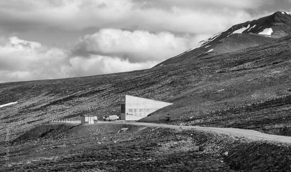 Global Seed vault under repair, Longyearbyen