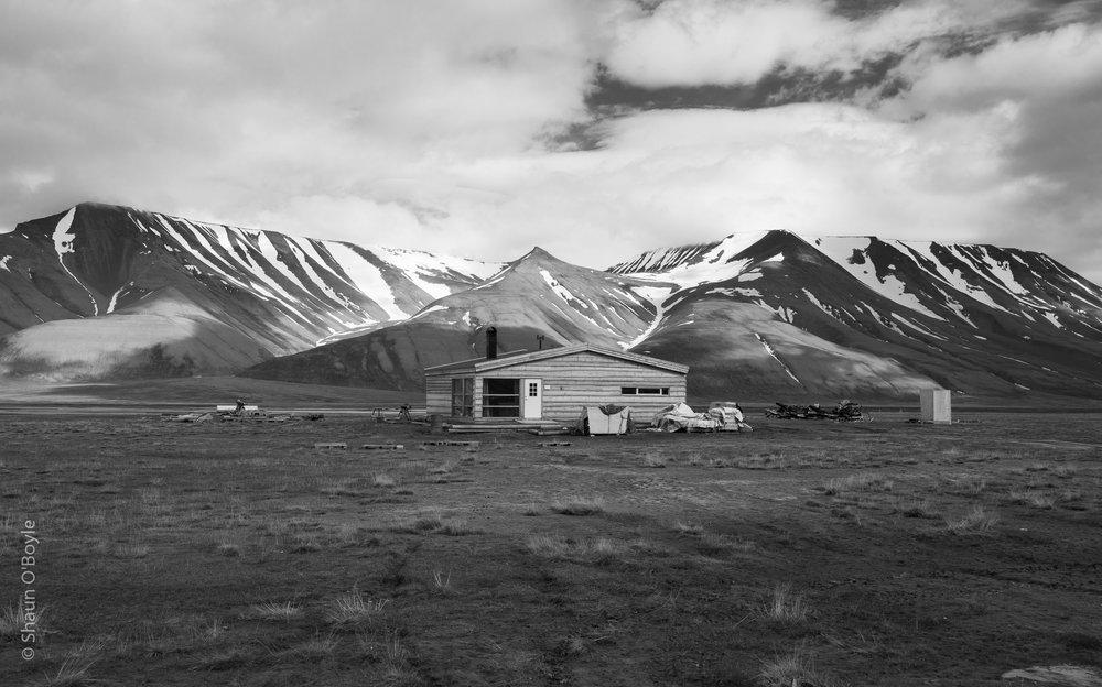 Homestead, Adventdalen, Spitsbergen