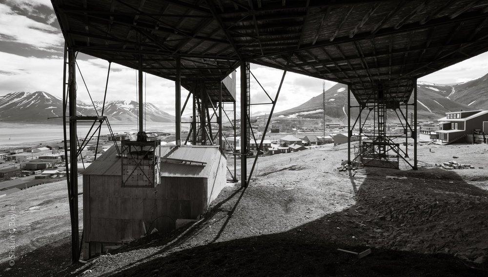 Taubanesentralen, former coal cableway center