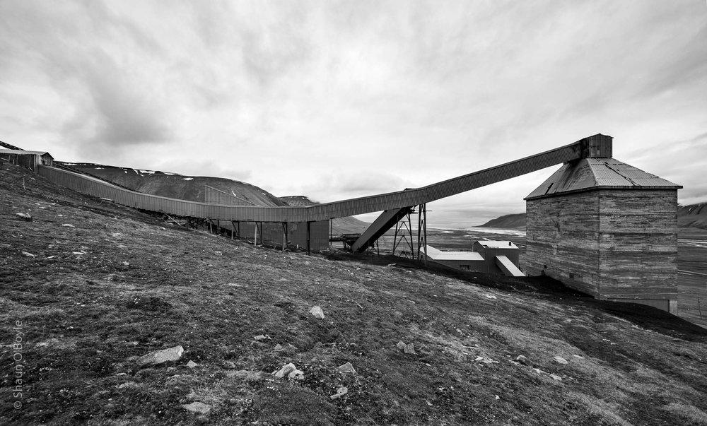 Mine #6, active 1969-1981, Adventdalen