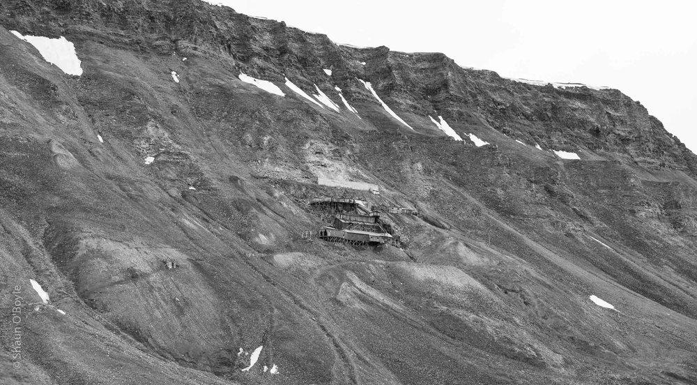 Mine 2B above Nybyen, active 1937-1968