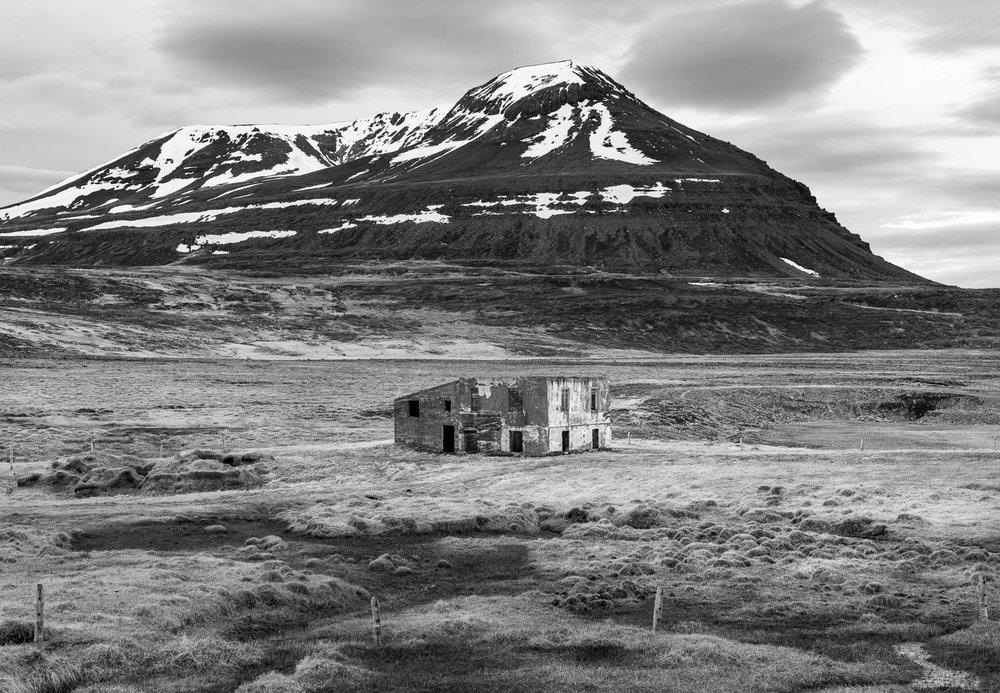 Farm ruin, Langanes