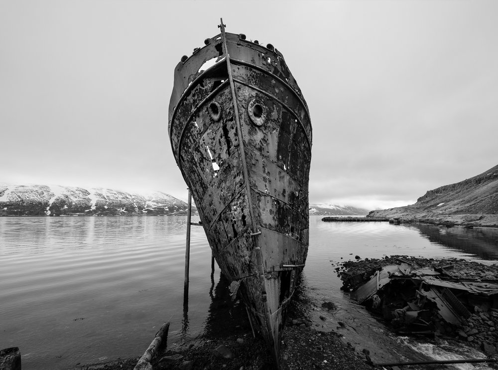 Wreck of the Steamship Sudurland, Djupavik, Westfjords