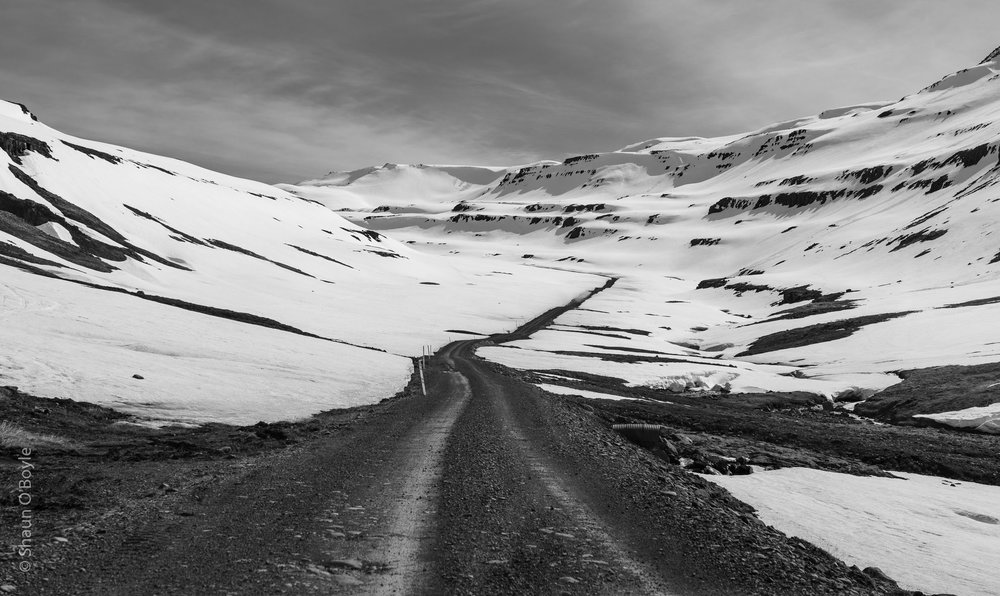 Road to Mjoifjordur