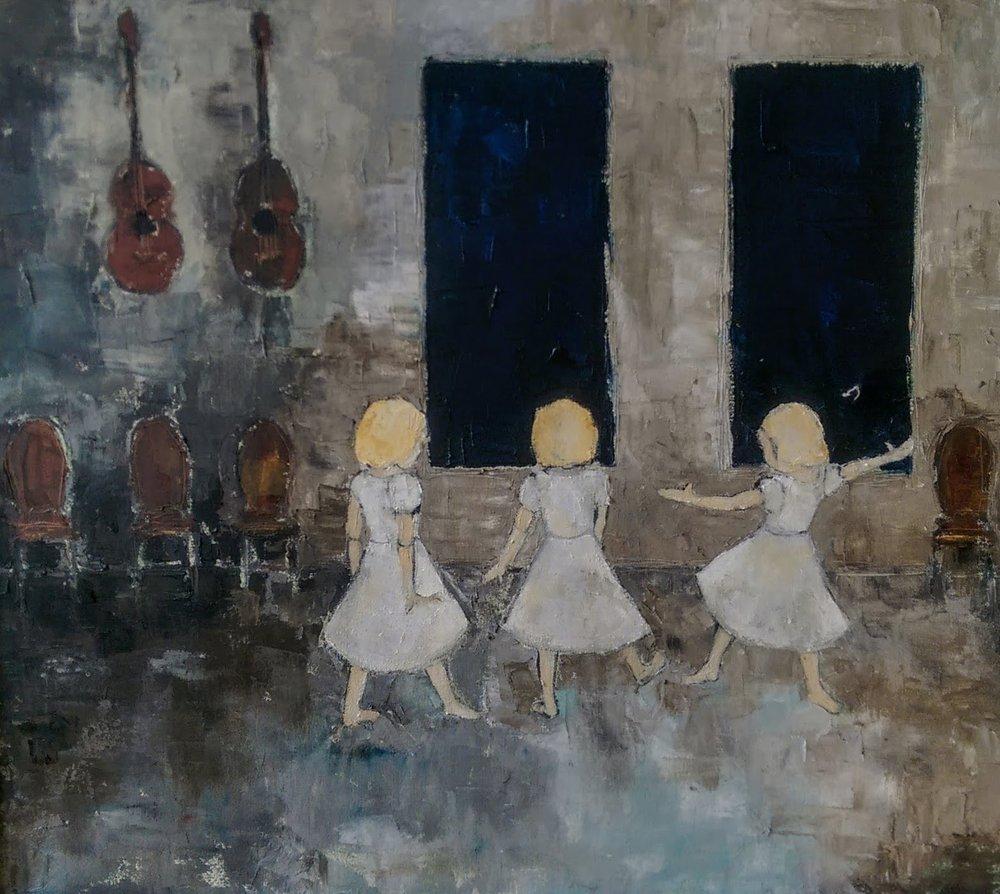 """mila :: 22""""x30"""" :: oil on canvas"""