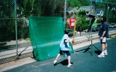 Whiffle Ball Batting Cage