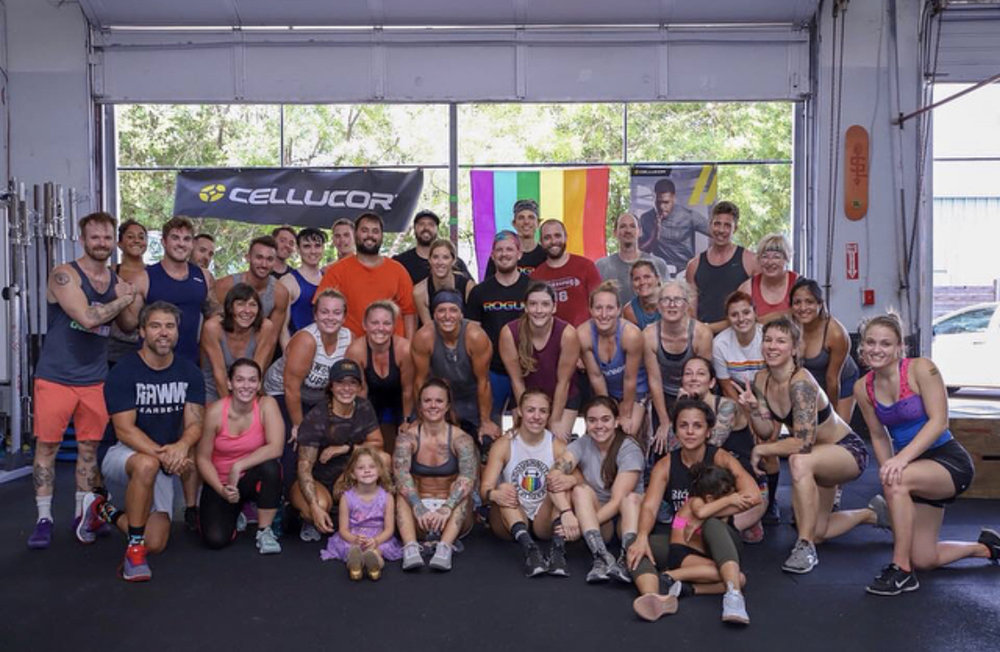 "OUTWOD Austin - ""As a straight man who was honored to host and run an OUTWOD at my gym, I'm here to tell you this is where it starts. This is the foundation for true inclusivity."""