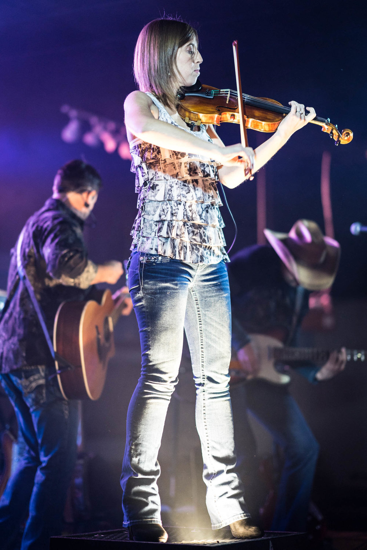 Madison County live concert| Violin jam | Photo by BillyBengtson.com