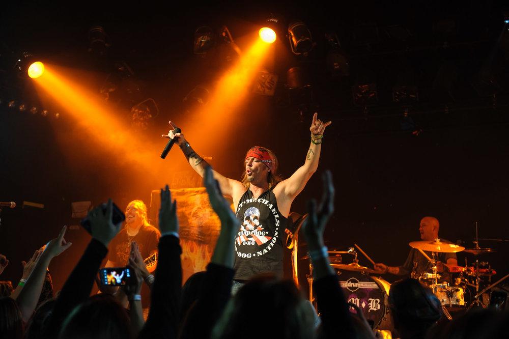 Bret Michaels live in concert | Rock concert | Photo by BillyBengtson.com