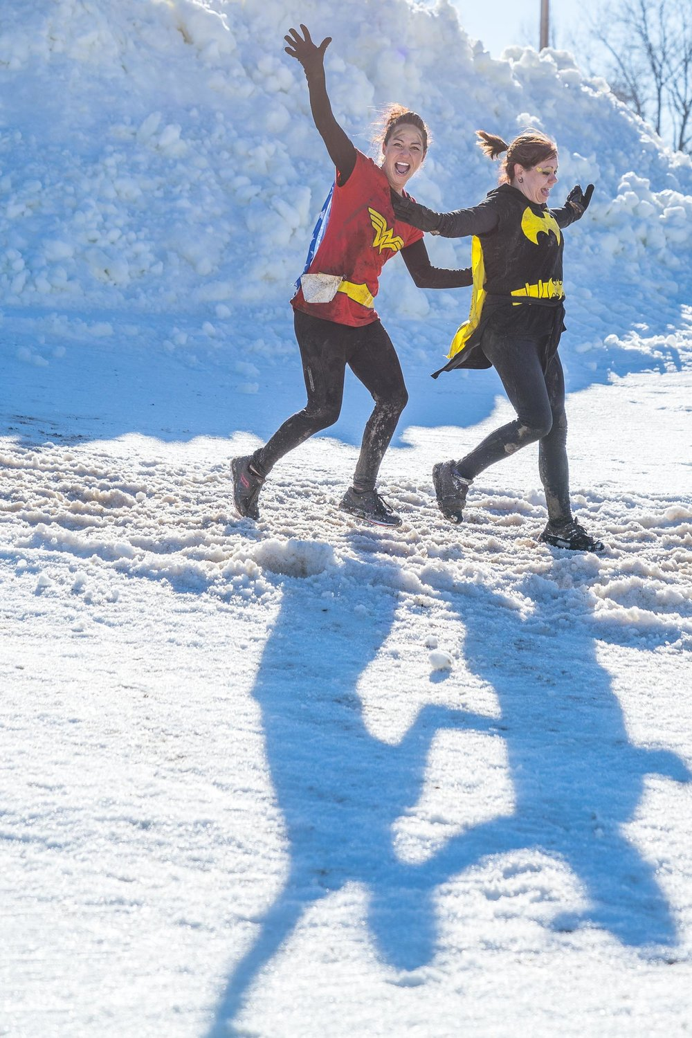 Abominable snow race | Laughter and Joy in the Moment | Photo by BillyBengtson.com