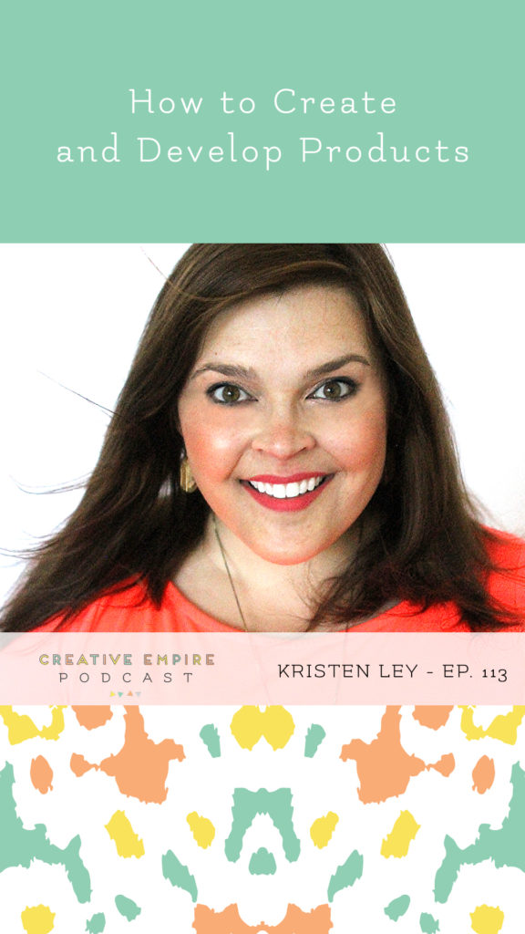 Instagram Story Graphic | Ep. 113 | Kristen Ley of Thimblepress