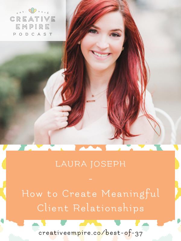 Laura Joseph | My Creative Empire Podcast