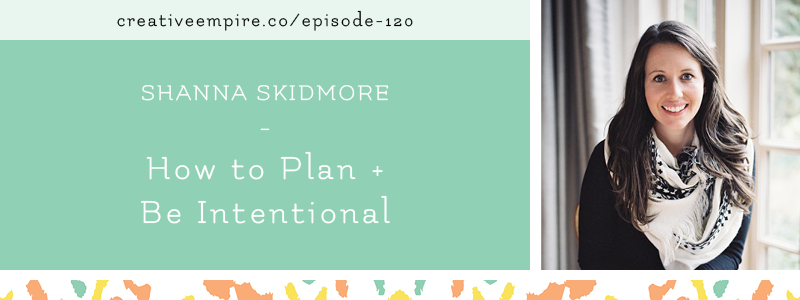 Creative Empire Podcast | Email Header Template | Episode 120 with Shanna Skidmore