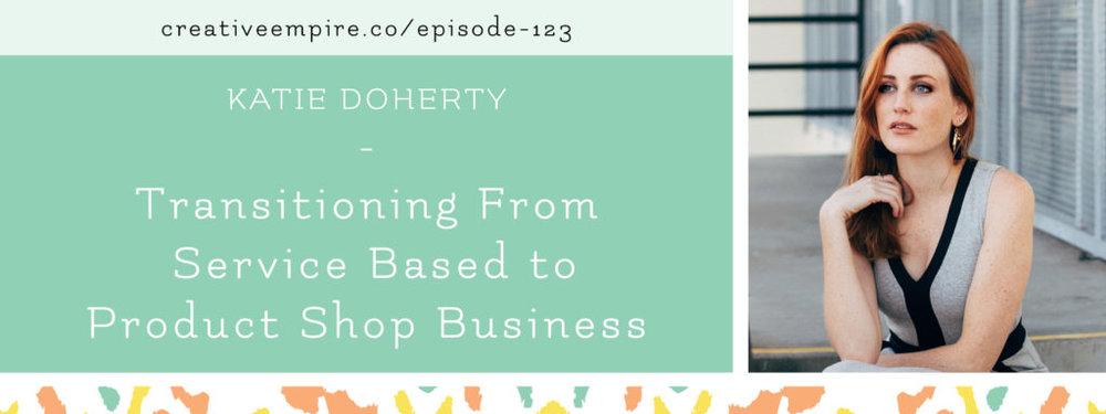 Email Header| Episode 123 | Katie Doherty