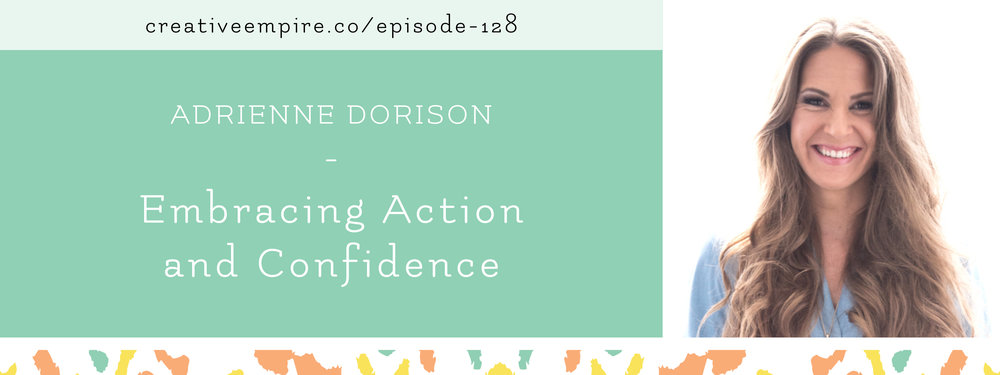 Email Header | Episode 128 | Adrienne Dorison