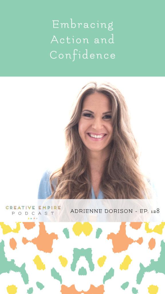 Instagram Story | Episode 128 | Adrienne Dorison