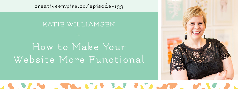 Email Header | Episode 133 | Katie Williamsen